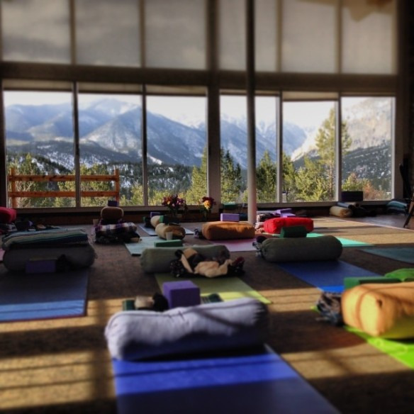 NOURISH Yoga Retreat with Buffy Barfoot and Kristine Whittle April 11-13 Mt Princeton Hot Springs